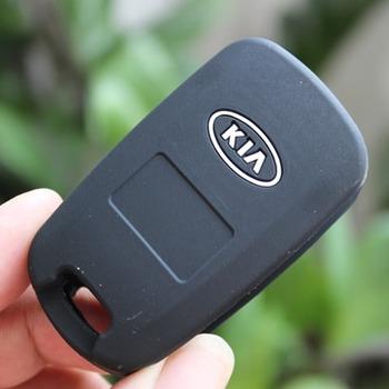 High -quality Silicone Car Key Cases Case Key cover Key Wallets for  KIA Sportage K5 K2 Borrego Forte