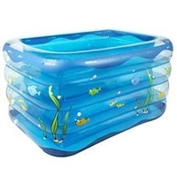 Beightening thickening inflatable baby swimming pool infant boy baby swimming pool paddling pool ultralarge