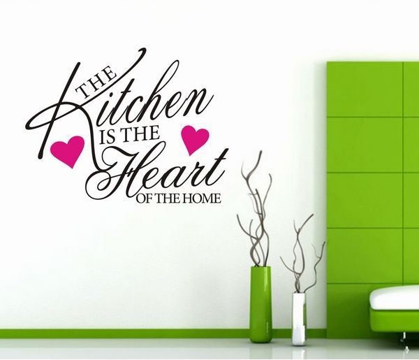 The Kitchen...Mural Wall Paper House Sticker Kitchen Wall Decal Art(China (Mainland))