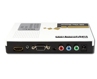 Free Shipping VGA + YpbPr input to HDMI converter, VGA Converter, HDMI Convertor, High end and good quality LKV351
