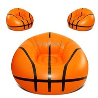 Inflatable Basketball Sofa, Size: 104cm / 41 inch (Orange)  ,easy to store and carry, home and travel is easy to use