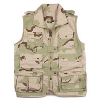 Ver5 outdoor vest outdoor casual multi-pocket vest Camouflage a0127