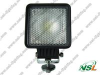 30W 2600lm Excavator LED Work Lamp Mining Light, led construction working light