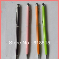 High quality 2 in 1 ball point Stylus Touch Pen for Ipad Itouch Iphone 3/4G/4S
