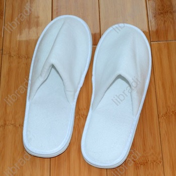 1pcs Fine Slippers For Home Family Office Spa Wedding Parties Hotel Clinic 31CM White-02