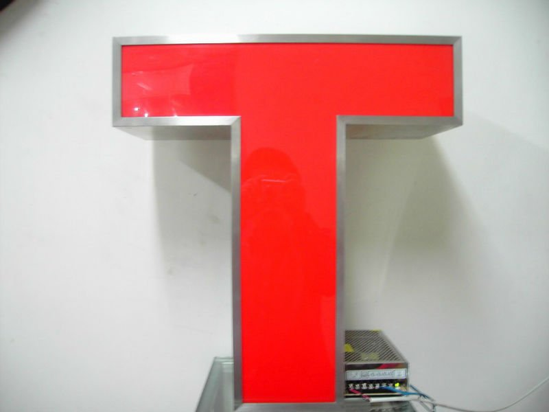 High brightness Front-lit LED channel letter signage(China (Mainland))