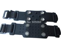 free shipping,Outdoor ultra-light portable simple crampon slip-resistant crampon non-slip snow shoes ,rock climbing