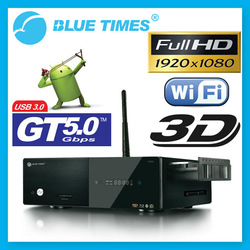 Bluetimes 3546B 3D Android 1080p H.264 MKV Network USB 3.0 Enclosure Wifi HDMI HDD TV Media Player Free Shipping(China (Mainland))