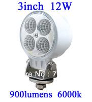 FOR JEEP 12W LED Work Light 900 Lumen Offroad Driving Lamp 3 inch   ATV,10-30V DC FLOOR BEAM cree led offroad led light