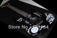 best Factory New Arrival Hammett Ouija White opera Electric guitar(OEM) free shipping