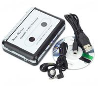 EzCAP USB Cassette Tape to PC converter player, USB Walkman, Super Portable USB Cassette-to-MP3 Converter Capture recorder