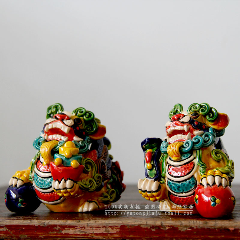 Home colorful home decoration auspicious pi xiu family peace creative gift ask the lowest postage(China (Mainland))