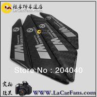 Free shipping,car anti-collision strip.bumper protector,carbon fiber door anti-rub  sticker for BMW vw marzda benz