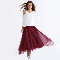 2013 nude chiffon bust skirt tulle dress 8 meters expansion bottom full dress mopping the floor classic fashion -Free Shipping