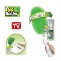 Free Shipping New Arrival Wholesale electric feather duster spining go duster home cleaning device(China (Mainland))