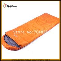 Free shipping spring  summer  autumn  sleeping bags Outdoor Cotton Waterproof Adult sleeping bag Outdoor Camping sleeping bag