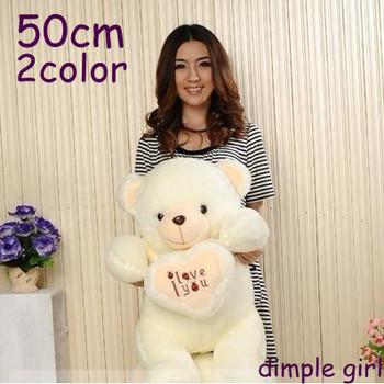 i love you for sale large size stuffed big white teddy bear plush soft toy baby girlfriend wedding doll graduation aliexpress