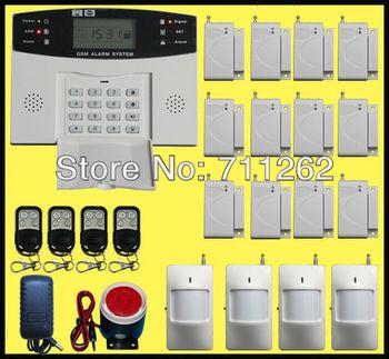 Wholesale! GSM Smart Home Security Alarm System PIR Sensor Auto-Dial