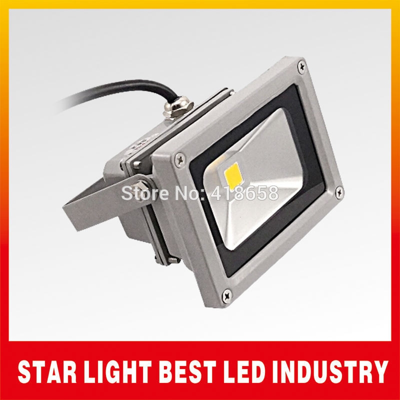 10W 85-264V 900LM 6500-7000K Waterproof Pure White LED Flood Light LED Landscape Lighting outdoor LED FloodLight free shipping(China (Mainland))