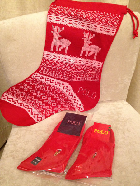 Accessories p christmas lovers socks 100% cotton sock red sox(China (Mainland))