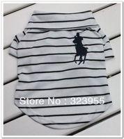 Wholesale Polo dog T-shirt Polo pet t-shirt in light blue 2013 Hot Sale