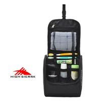 138 pure black high sierra wash bag large capacity travel storage bag general