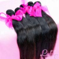 Luffy hair virgin hair  brazilian straight,100% human  2pcs lot,Grade 5A,unprocessed hair