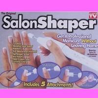 Salon Shaper Nail Shaper 5 in 1 Manicure Pedicure Nail Trimming Kit 1set/Lot As Seen On TV