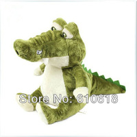 Free Shipping 1 Pcs Super Cute Big Eyes Simulation Crocodile Alligator Plush Toys Doll Pillow Cushion Children Kids Gifts