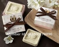 Essential oil     Oil soap snowflake shape bath soap  Owl soap  Personalized soap