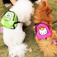 Pet dog backpack small bag pet cute bags for teddy VIP dog free shipping