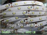 DC12v SMD3528 60led/m flexible led strip light 5M/roll pack 300led waterproof glue IP65