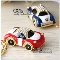 Full Capacity 2GB/4GB/8GB/16GB/32GB Crystal Car USB 2.0 Enough Memory Stick Flash pen Drive CB201