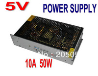 5V 10A 50W Switching Power Supply driver AC DC Converter For LED Strip light Display 110V/220V
