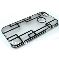 double colors PC case for iphone 5 2013 new arrival mobile case