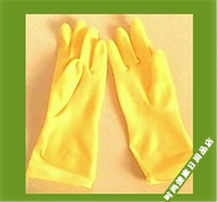 Thickening cow muscle natural latex industrial gloves cleaning household gloves waterproof gloves