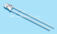 Free shipping 100pcs/lot  3mm Ultra brightness Yellow LED Water Clear 10000~15000mcd 25deg 30Y1C-CSE-D