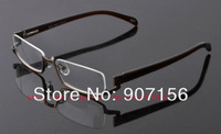 HOT Sales:   fashion glasses frame male myopia eyewear frame,Half-Rim glasses frame ,men's optical frame