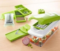 TB105 Fruit Nicer Dicer Slicer Cutter Plus Container Chopper Peeler Easy Vegetable freeshipping wholesale