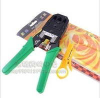 With three ethernet cable plier rj-45 network clamp telephone plier opel ethernet cable plier crimping plier tongers