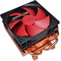 free shipping 1pcs Small version double pure copper heatpipe graphics card heatsink quieten 10cm graphics card fan