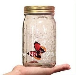 Best Gift, Electronic Flying Butterfly,Electronic Butterfly in a Jar Cute Gift for kids, free shipping(China (Mainland))