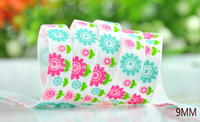 free shipping 1' (25mm) Grosgrain Ribbon Spring impression Printed Ribbon 15yards/roll J-20-M