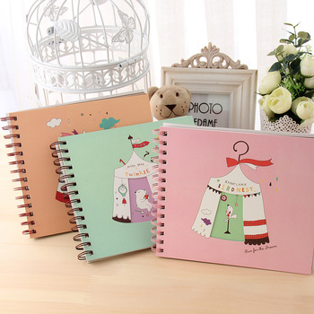 Because diy photo album paste type lovers handmade baby photo album grow baby photo album