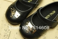 #64741 High-grade imported PU exported quality female child princess shoes