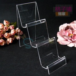 Acrylic display stand digital products mobile phone holder display rack jewelry props jewelry holder(China (Mainland))