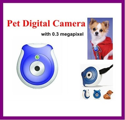 Mini Digital camera with 0.3 Megapixel for Pet,Cat Cam and Dog Camera with 1, 5 and 15 minutes model for taking photo Micro SD(China (Mainland))