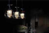 Shipping!   New Modern  3 Lights Crystal Wineglass Wine Glass Pendant Lamp Hot Selling,  Luxury fashion     S11
