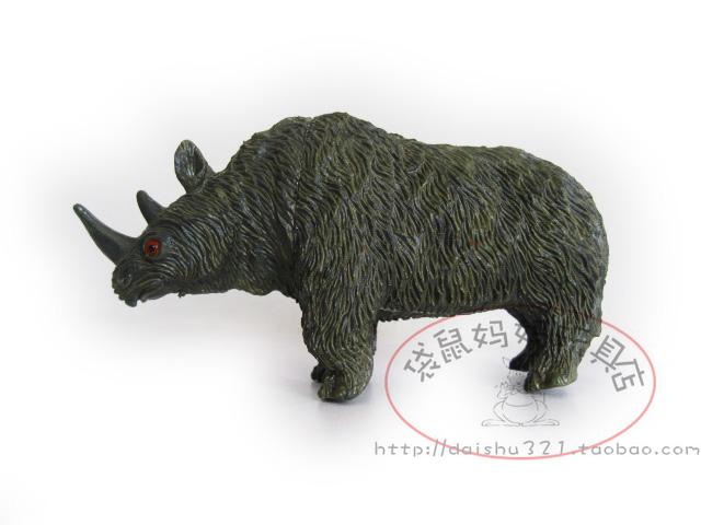 Macrotrichia rhino sh animal wool rhino long 11cm(China (Mainland))