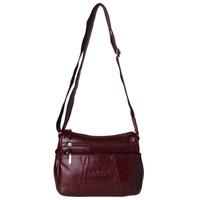 Gold coral cowhide women's messenger bag shoulder bag   women's handbag bag